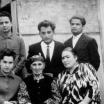 Куддус Ганиевич, Хуршед Ганиевич, Арслан Ганиевич,  сноха Таклифа, мама, сестра Мехринисо.