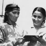 Мать с дочерью Мехринисо.